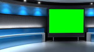 Studio Background In Green Screen Free Stock Footage