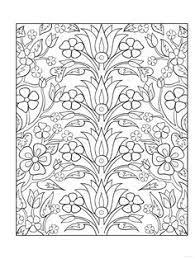 Decorative Tile Designs Coloring Book Marty Noble 0499991607068