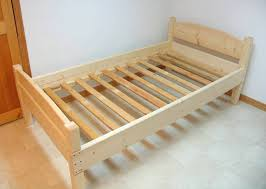 diy wooden bedframe and finally the bed frame all assembled