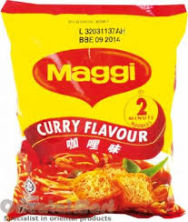 maggi cuisine maggi curry flavour noodles 咖哩味面 instant packet noodles