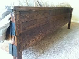 bed frames diy bed headboard diy king platform bed how to build