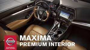 2016 Nissan Maxima – Interior