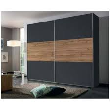 schiebetüren schrank kleiderschrank schwebetüren schlafzimmer grau eiche 218cm