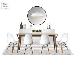 Affordable Scandinavian Dining Room Design