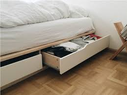 Mandal Headboard Ikea Usa by Ikea Bed Frame Storage Brusali Bed Frame With 4 Storage Boxes