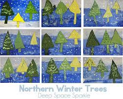 Christmas Tree Books For Kindergarten by Book Review U0026 Here Near U0026 Far Winter Trees Lesson Art Tutor
