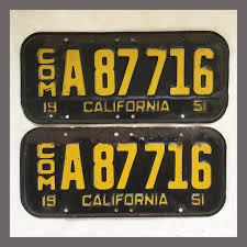1951 California YOM License Plates For Sale - Original Vintage Pair ... 16yearold Driver With No License Or Insurance Crashes Car Into St Transportation In Bulgaria Professional Legal Advice By 1960 Colorado Truck License Plates Brandywine General Store Fileillinois B Platejpg Wikimedia Commons Us State Nevada Issues First For Selfdriving Transport Food Plate Lunch Meal Service 3d Illustration Stock What Can You Do With This Dydan Filealberta 1933 Class Truck License Plate 4 Digit Flickr 6 X 12 Collectors Series Ford Tuff Me My And 1962 Maryland Truck Professionally Stored 2004 North Carolina Weighted Nc Ca1779