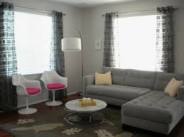 modern curtains for grey living room