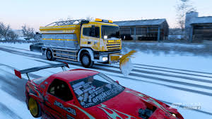 100 How To Plow Snow With A Truck Literally Unplayable The Snowplow Doesnt Plow Snow Forza