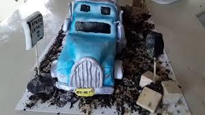 100 Semi Truck Cake Tutorial How To YouTube