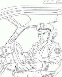 Police Badges Coloring Pages For Kinder