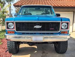 100 K5 Truck 1973 Chevy Blazer Kylie Cereghino LMC Life