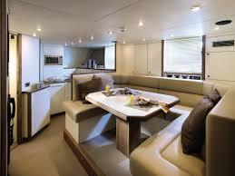 Best Floor For Kitchen Diner by Luxury Yacht Kitchen Diner Interior Design Ideas
