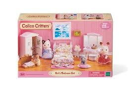 amazon com calico critters lavender bedroom toys games