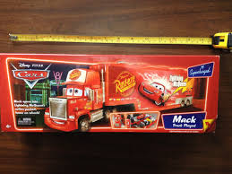 100 Cars Mack Truck Playset Disney