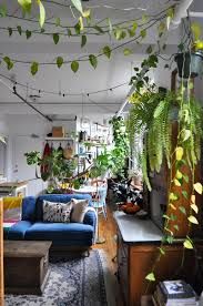 100 500 Square Foot Apartment 40 Plants Fill This Couples Studio