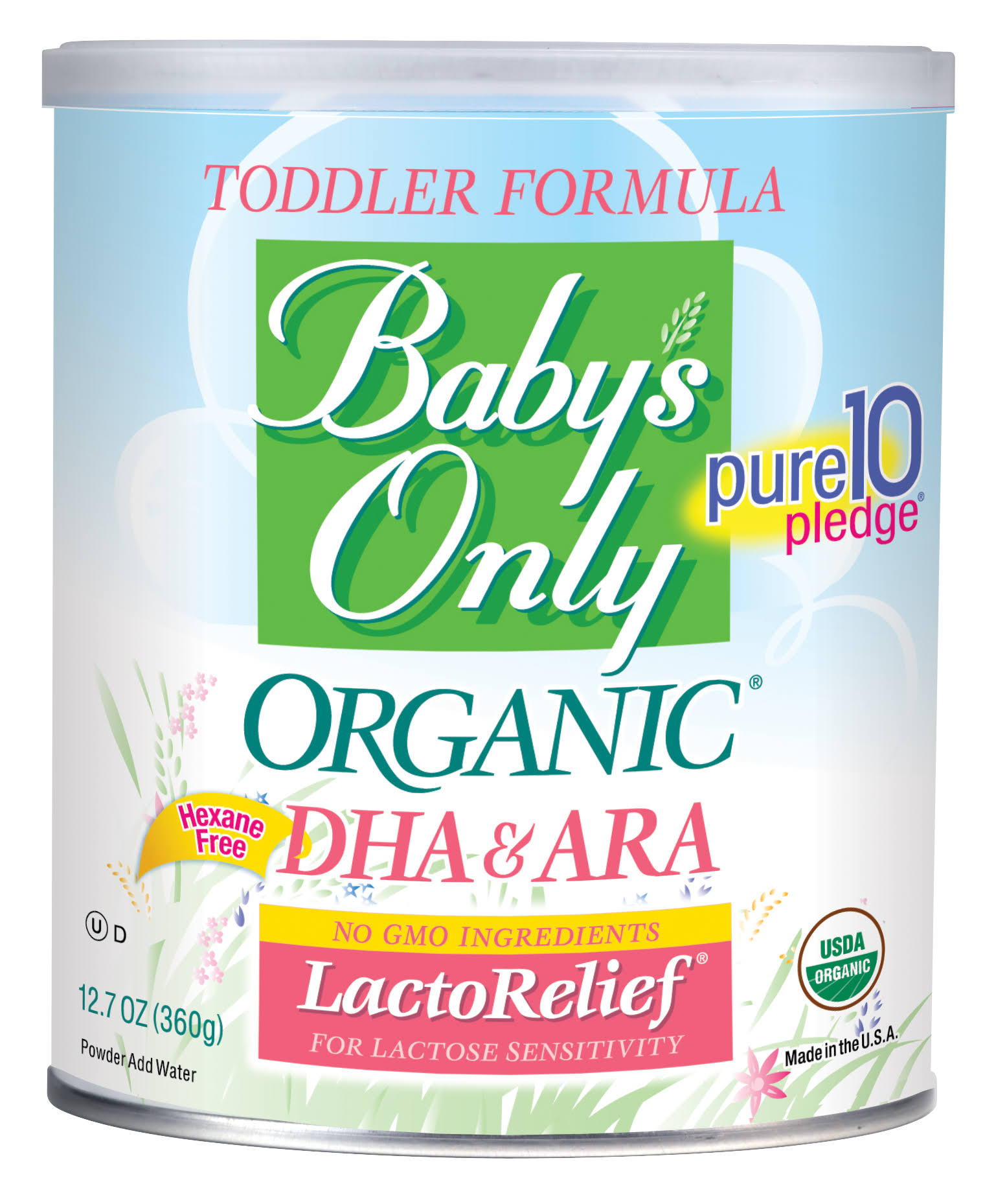 Baby's Only Toddler Formula - Lactose Relief, Organic, 380ml