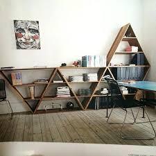 Triangular Bookshelf Modern Framed Black Bookshelf Furniture Mart
