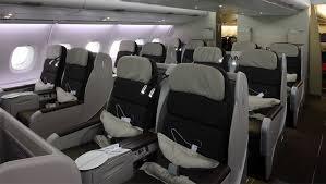 siege business air best seats business class affaires air airbus a380