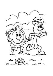 Nursery Rhymes Coloring Sheets