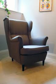 Strandmon Wing Chair Green by Birthday Wish Come True Home On 129 Acres