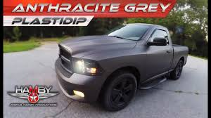 100 Plastidip Truck PlastiDip Dodge Ram Anthracite Grey YouTube