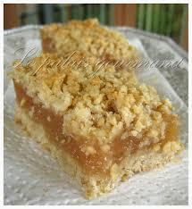 dessert a base de compote de pommes carrés aux pommes recette