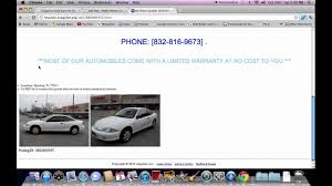 100 Houston Craigslist Trucks Used Cars How To Search For Used And