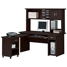 Magellan L Shaped Desk by Trendy Ideas Espresso Office Desk Realspace Magellan Collection L