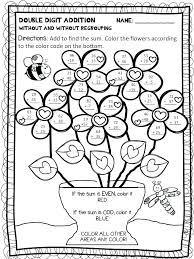 2nd Grade Coloring Pages Addition Gallery Free Color By Number Thanksgiving