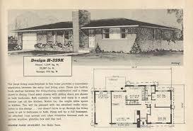 The Retro Home Plans by Vintage House Plans 359 Antique Alter Ego Ranch Style Luxihome
