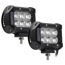 18W CREE LED Off Road Work Light Bar - TORCHSTAR China High Intensity Bridgelux Led Truck Work Light Gf006z03 Pair Of New 7x6 54w Led Headlight Square Car Small 26 10w Offroad Auto Lamp Suv 700lm 240w Bar Boat Tractor 4x4 4wd Suv Lights For Trucks Jinchu Work Light Halogen Offroad Atv Truck Quad Flood Lamp 18w 6x 5 Inch 45w 3300lm 15x Leds Dc 1030v 4wd 7inch Spot Beam 36w Trucklites Signalstat Line Now Offers White Auxiliary Lighting 2pcs 10w Motorcycle Bicycle Spot 30 Degree Amazonca Accent Off Road