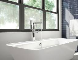 Delta Floor Mount Tub Faucet by Zura Bathroom Collection