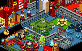 A Rather Elaborate Habbo Room