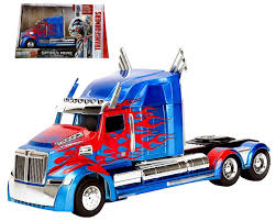 Amazon.com: Transformers Optimus Prime Truck Western Star 5700 XE ...