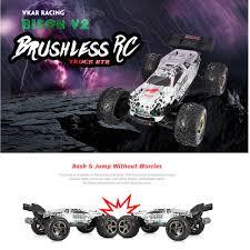 100 Brushless Rc Truck VKAR RACING BISON V2 110 80 90kmh 24GHz 2CH 4WD RC