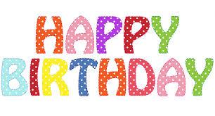 Happy Birthday Clip Art Animated Medium size