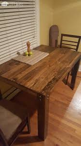 Pallet Dining Table First Diy Project