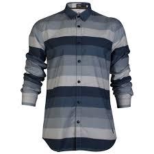 mens slim fit jack u0026 jones core maddex striped print shirt top