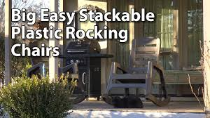 Cracker Barrel Rocking Chairs Amazon by Big Easy Stackable Rocking Chair Review Youtube
