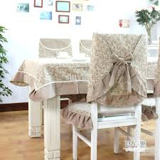 Dining Chairs Linen Slipcovers For Without Arms Room