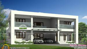 Flat Roof Duplex Style Home Kerala Design Floor Different Designs ... Duplex House Plan And Elevation 2741 Sq Ft Home Appliance Home Designdia New Delhi Imanada Floor Map Front Design Photos Software Also Awesome India 900 Youtube Plans With Car Parking Outstanding Small 49 Additional 100 3d 3 Bedrooms Ghar Planner Cool Ideas 918 Amazing Kerala Style At 1440 Sqft Ship Bathroom Decor Designs Leading In Impressive Villa