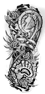 Sleeve Tattoo Designs Drawings On Paper Design 2