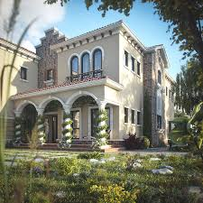 100 Villa In Dubai Tuscan Spired By Architecture Design