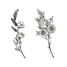 Flower Drawings For Tattoos New In Best Really Liking These