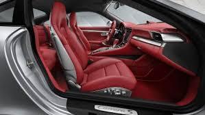 Porsche 911 Carrera 2016 dimensions boot space and interior