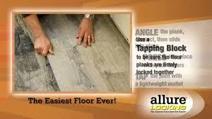 Easy Grip Strip Flooring by Allure Locking Gen 4 Vinyl Plank Flooring Youtube