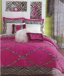 Zebra Print Bedding For Girls