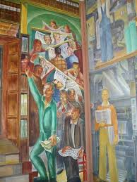 37 best mural images on pinterest murals post office and mural art