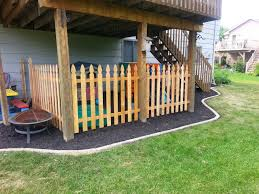 Under Deck Landscaping And Fenced Kids Play Area. | The Hotdish ... Wonderful Green Backyard Landscaping With Kids Decoori Com Party 176 Best Kids Backyard Ideas Images On Pinterest Children Games Backyards Awesome Latest Low Maintenance Landscape Ideas For Fascating Kidsfriendly Best Home Design Ideas Garden Small Edging Flower Beds Home Family Friendly Outdoor Spaces Patio Decks 34 Diy And Designs For In 2017 Natural Playgrounds Kid Youtube Garten On A Budget Rustic Medium Exterior Amazing Decoration Design In Room Wallpaper